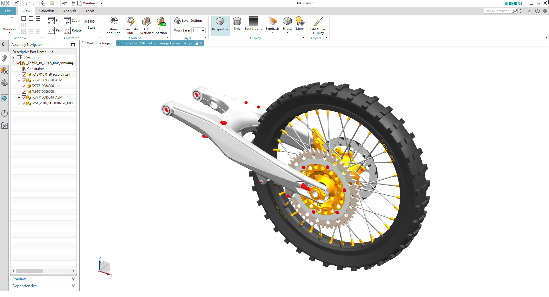 nx viewer view