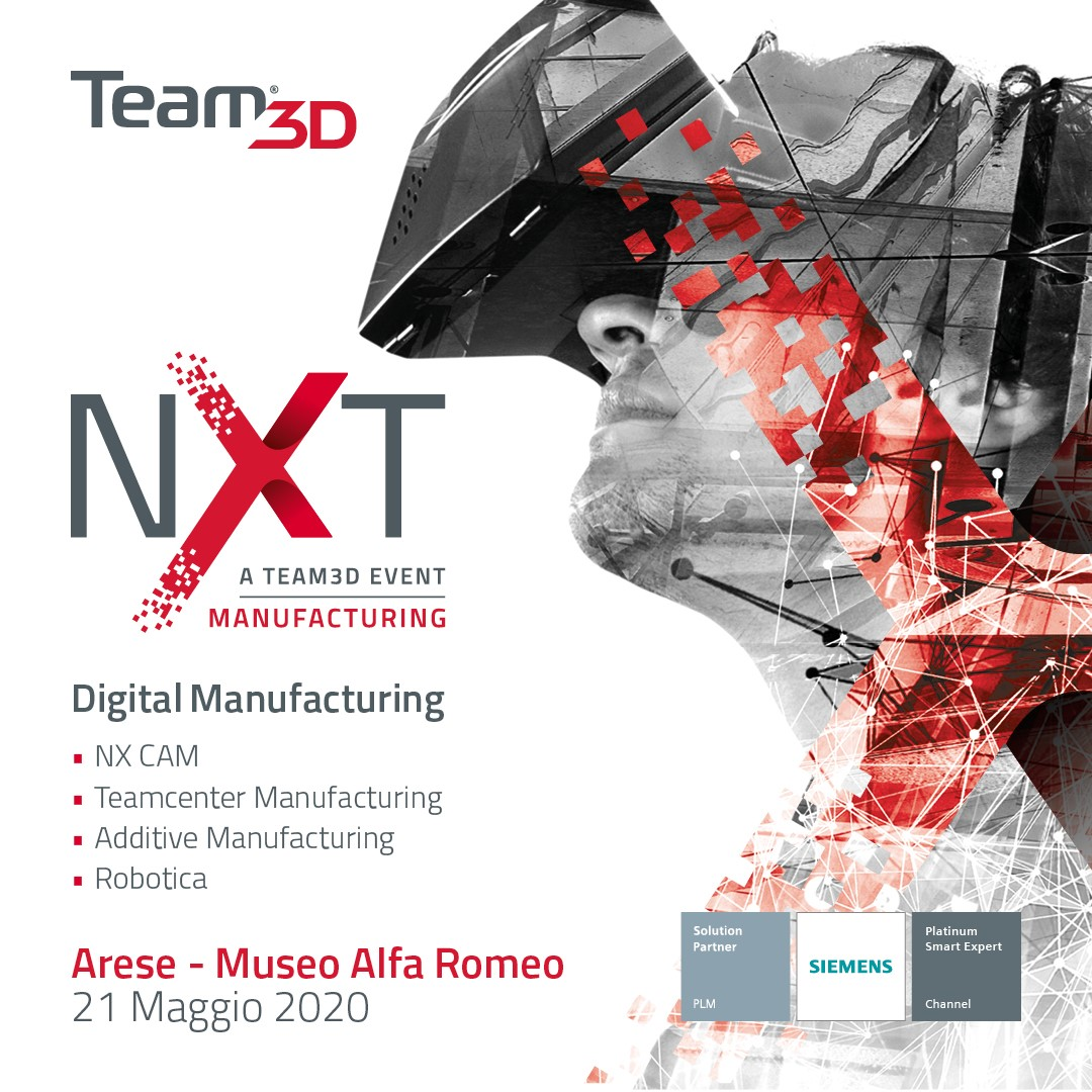 team3d evento nxt manufacturing