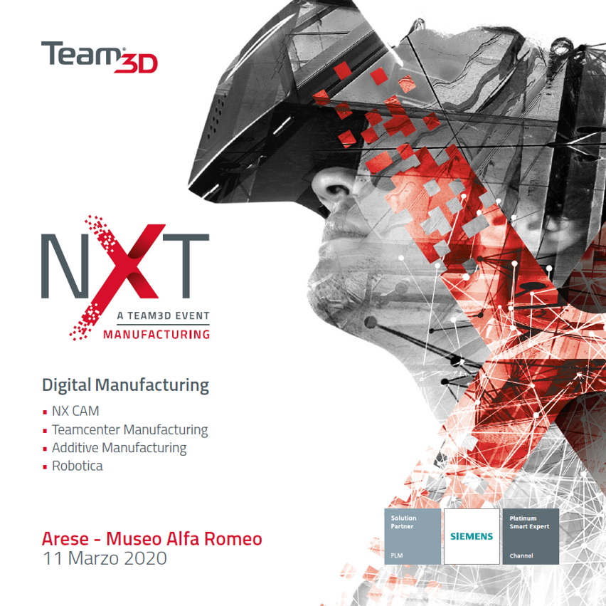 Nxt manufacturing evento team3d